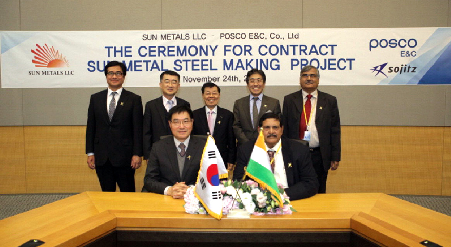 detailing of posco project The posco daewoo-hyundai e&c consortium carried out this project using a turn-key method in which the entire process is carried out at once including engineering, purchasing and construction, and the project was financed by the asian development bank.